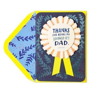 ⚡️5/$30⚡️Papyrus honorary dad, Father's Day card